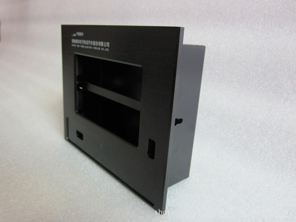 工业平板电脑铝面板+底壳加工