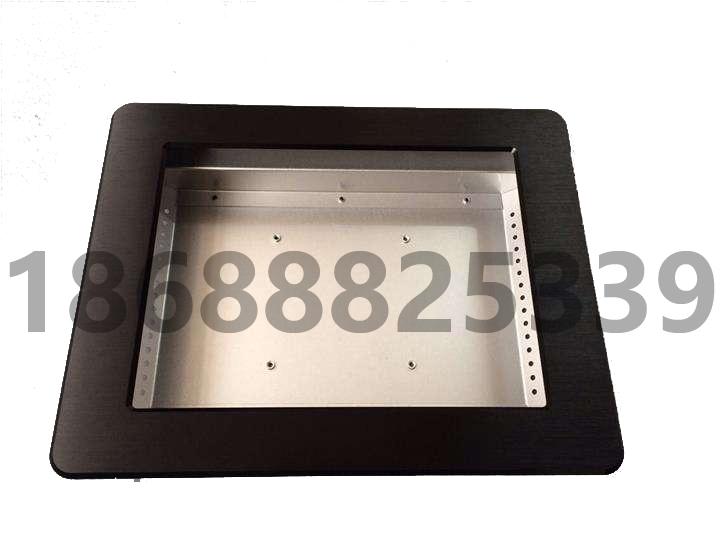 拉丝铝面板15寸工业平板电脑外壳